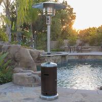 NEW Bronze Commercial Outdoor Patio Heater LP Propane Deck Tall 48,000 BTU Gas