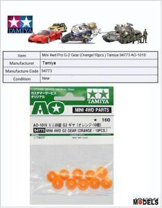 Humble Mini 4wd Pro G-2 Gear (orange/10pcs.) Tamiya 94773 Ao-1019 New Nuovo Approvisionnement Suffisant