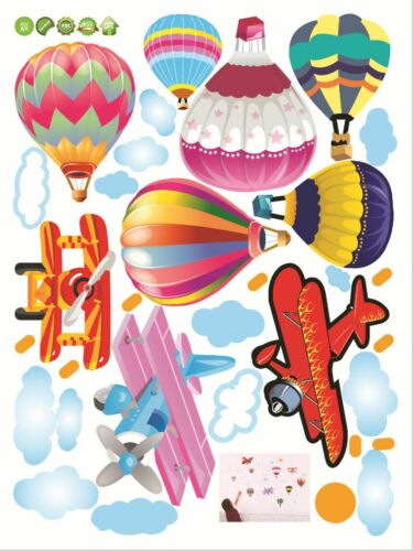 Balloon Plane Remove Living Room Children/'s Room Wall Stickers
