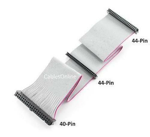 12-inch 2 Female  44-Pin  to 1 Female 40-Pin IDE Cable