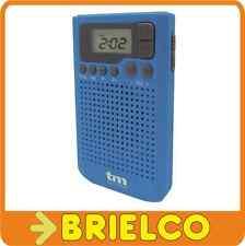 RADIO PORTATIL PLL AM-FM 40 PRESINTONIAS RELOJ ALARMA DISPLAY LCD CON LUZ BD5315