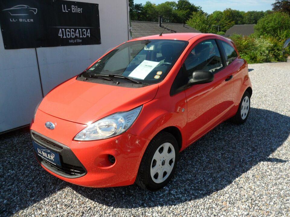Ford Ka 1,2 Trend Benzin modelår 2011 km 54000 Orange