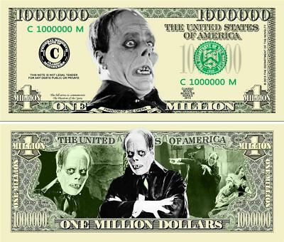 Tom Cruise Caricature Million Dollar Tract Funny Money Novelty Note FREE SLEEVE