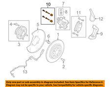 FORD OEM Brake-Rear-Caliper Mount Mount Kit CT4Z2386A