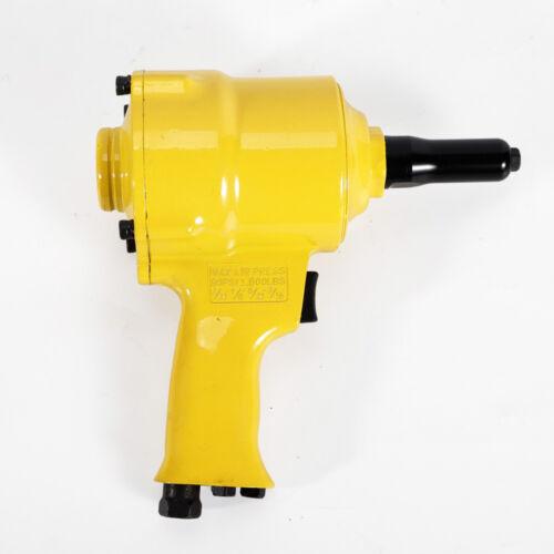 Air Riveter Pneumatic Rivet Gun Handheld Tool Heavy Duty Repair Pop Rivet Best