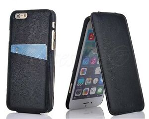 iPhone-6-6S-Genuine-Real-Leather-Flip-Lite-Case-Screen-Protector-Card-Slot-Cover