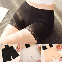 New Lady Lace Comfortable Safety Pants Trousers Slim Short Leggings Underwear
