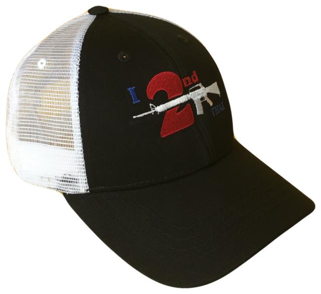 I 2nd That Second Amendment Adjustable Mesh Golf Trucker Cap Caps Hat Hats  Gun 8d68813ef03