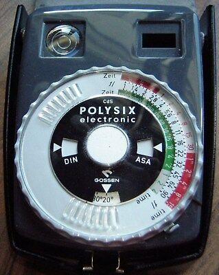Gossen Professioneller Belichtungsmesser Polysix Electronic Um 1970 Einen Effekt In Richtung Klare Sicht Erzeugen