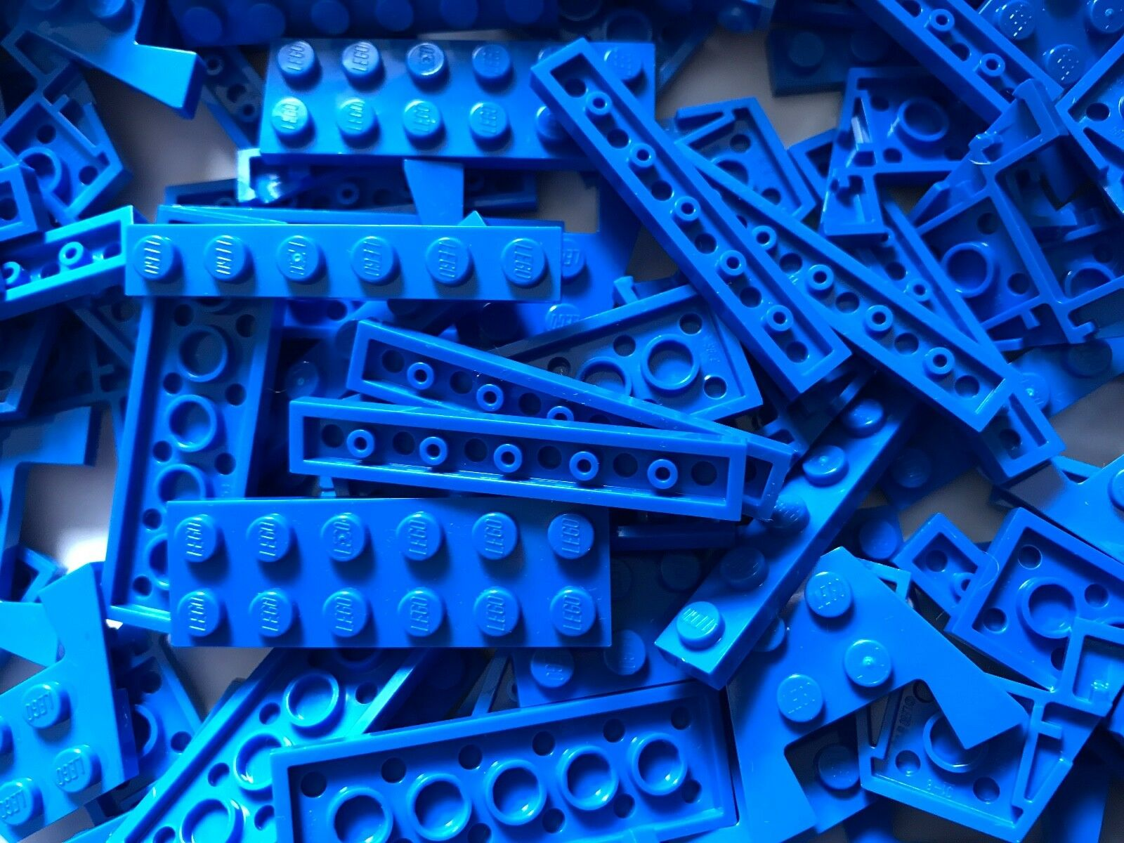 700g LEGO PARTS Blau plates lot STAR WARS CITY CITY CITY BATMAN MARVEL modified parts 5fc993