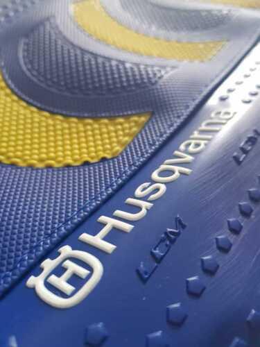 Seat cover Husqvarna TX300 tx 300 2017 2018 Blue /& Yellow ultragrip