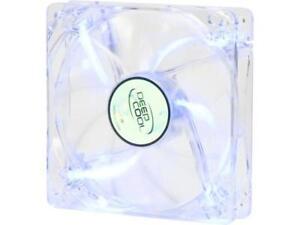 DEEPCOOL XFAN 120L/B Hydro Bearing Transparent Fan with Blue LED
