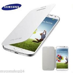 Original-Samsung-Galaxy-S-4-IV-Flip-Cover-FlipCase-EF-FI950B-Weiss-Weiss-NEU-BULK