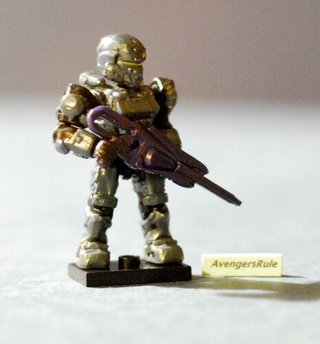Halo Mega Bloks Series 8 UNSC Spartan Soldier Ultra Rare