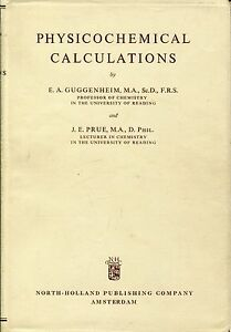 Physicochemical calculations,