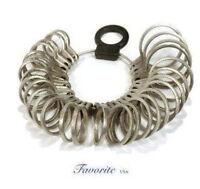 Finger Metal Gauge Precision Ring Sizer 1-15 Diestruck
