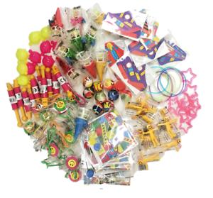 100 Party Bag Fillers Job Lot Bundle Girls Boys Kids Lucky Dip Mixed Toy Prizes