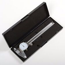 "6/"" DIAL CALIPER STAINLESS STEEL SHOCKPROOF .001/"" OF ONE INCH."