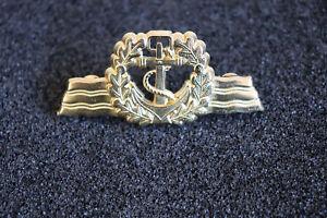 (A26-009) Marine Bundeswehr Seefahrer Tätigkeitsabzeichen gold mit Pins