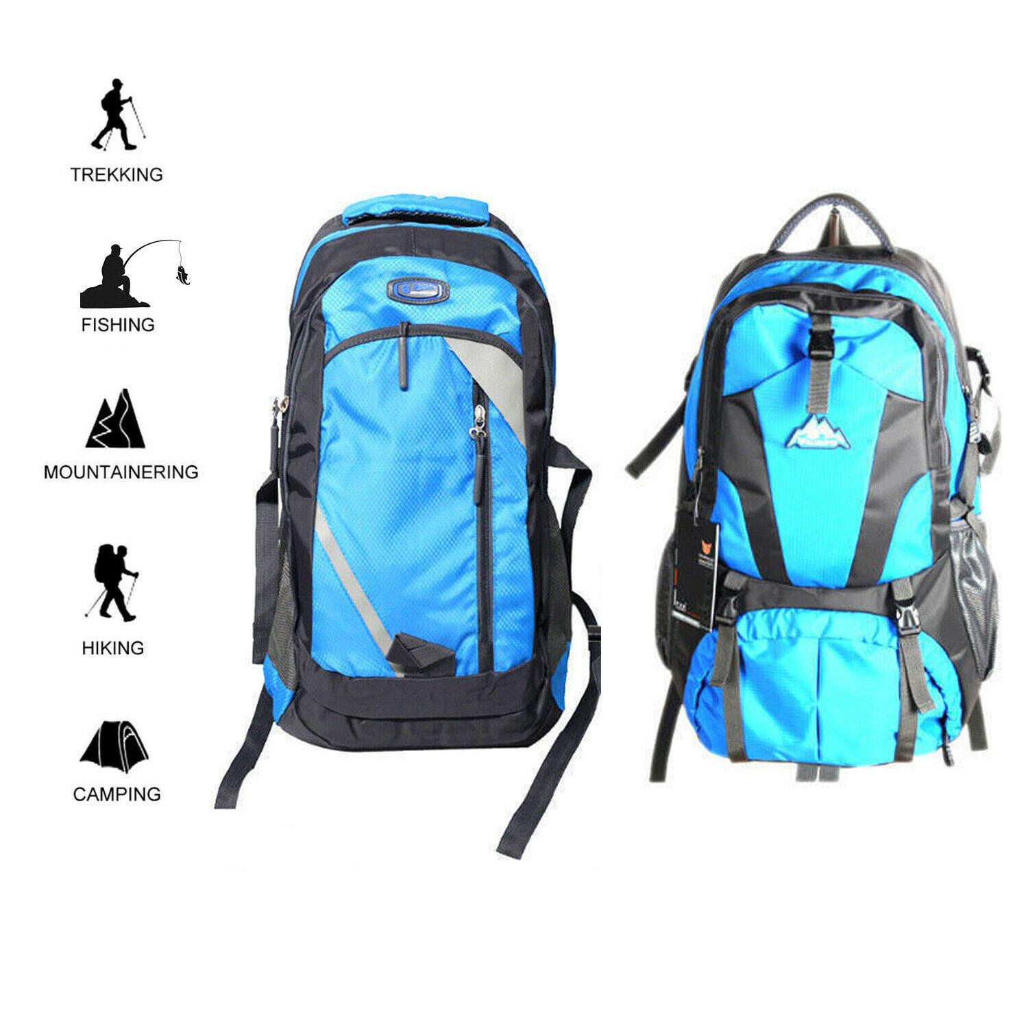 Travel Bags Waterproof climbing bag that is hiking in various Size... - s l1600