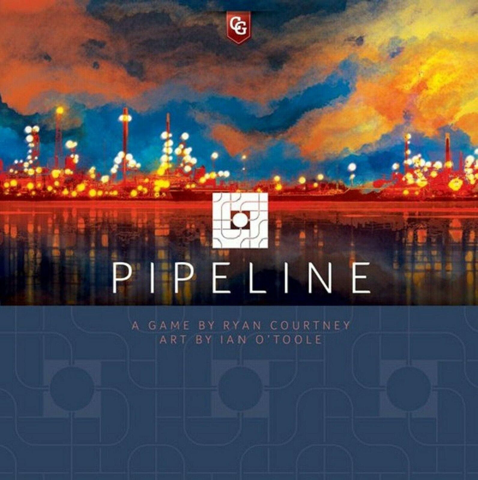 Capstone Games  Pipeline board game (New)