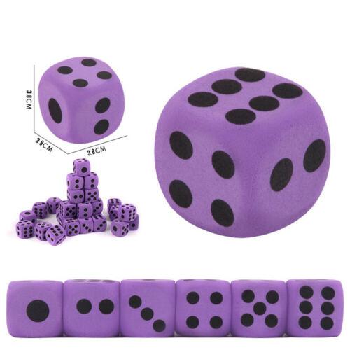 1pc Spezialität Riesen-EVA Schaum Würfel Spielen Party Spielzeugspiel für Kinder