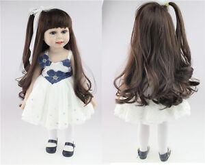 18-034-Reborn-Baby-Bambole-gift-Long-Hair-Girl-Lifelike-Doll-Silicone-Vinyl-Newborn