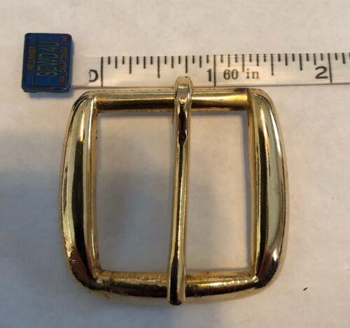 "1 1//4"" Single Prong Belt Buckle Gold"