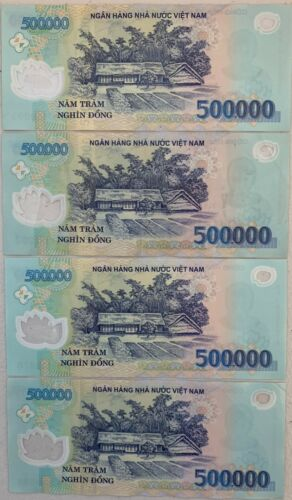 500,000 Banknotes FAST SHIPPING VND 2,000,000 VIETNAMESE DONG CURRENCY 4 -