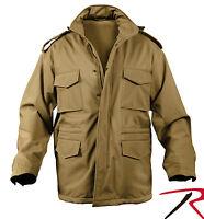 M-65 Field Jacket Soft Shell Tactical M-65 Jacket Fleece Lined W/ Hood 5744