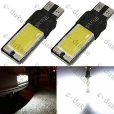 COB Chip LED T10 Super Bright Light for Cars And Bike - WHITE- 2pc