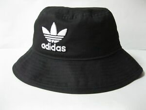 Image is loading Adidas-Originals-Adicolor-Bucket-Hat-Black-Camouflage-Mens-