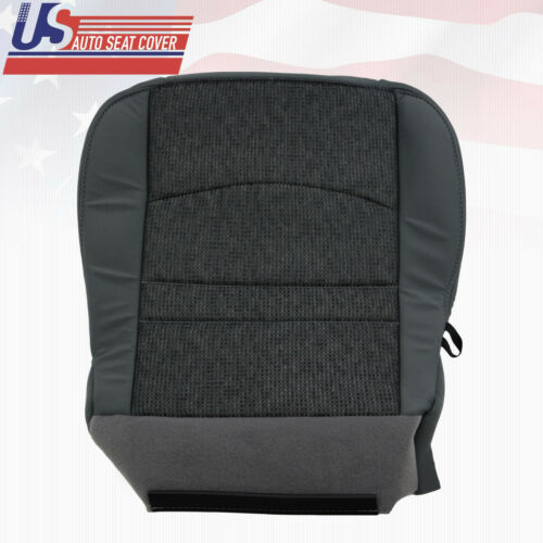 2013 to 2018 Dodge Ram SLT Outdoorsman Driver Side Bottom Cloth Seat Cover Gray