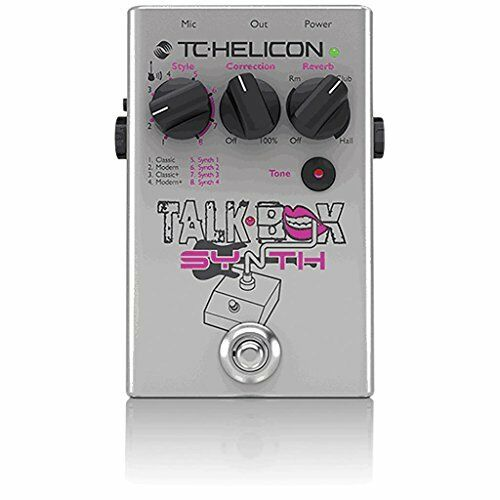 Picks NEW FREE 2DAY SHIP TC Helicon Talkbox Synth Guitar//Vocal Effects Pedal