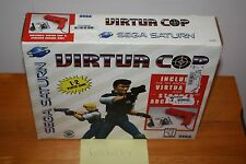 Virtua Cop Stunner Bundle (Sega Saturn) - NEW SEALED, SUPER RARE TO FIND!