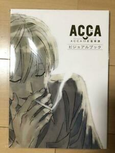 ACCA-13-Territory-Inspection-Dept-Visual-Book-Mad-House-130-Pages-Anime-Art