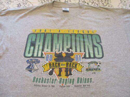 ROCHESTER RAGING RHINOS 2001 A-LEAGUE CHAMPIONS BA