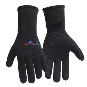 1-Paar-Tauchen-Schwimmen-Handschuhe-Surfen-Neoprenanzug-Paddel-GR-M-3mm