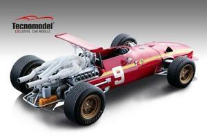 LAST ONE!! :18 Tecnomodel 1968 #9 312 Ferrari, Nurburgring GP Jacky Icks  Lim Ed