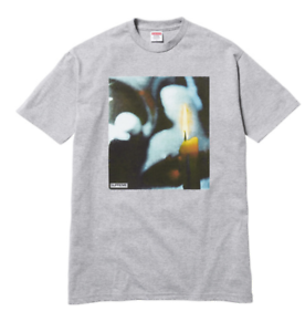 Supreme Candle Tee Heather Grey Size XLVERY RARESOLD OUT IN MINUTES!