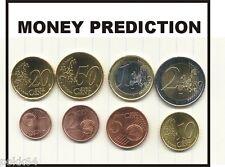 Money Prediction tour de MAGIE close up pièces de monnaie