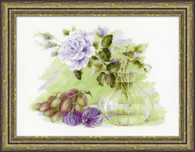 "Counted Cross Stitch Kit RIOLIS 1712 - ""Sweet Figs"""