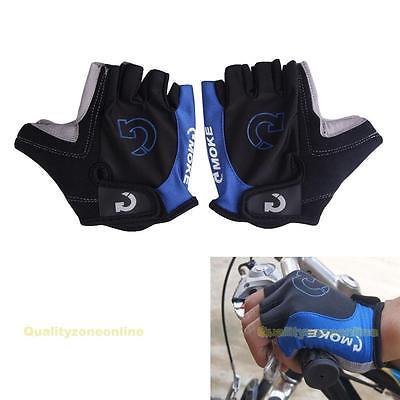 Sport Motorcycle Cycling Half Finger Gloves Mountain Bike Bicycle Antiskid Gel