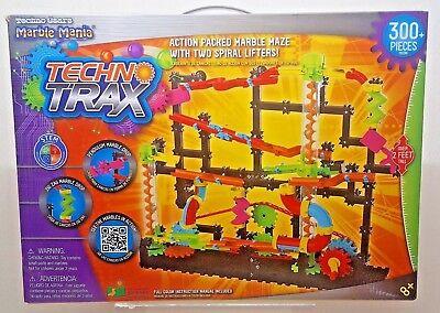 Techno Gears Marble Mania 300 Pc Techno Trax Marble Maze
