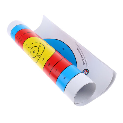 12Pcs Archery Trainning Target Paper Suitable for Recurve Bow and Longbow