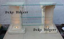 TV Regal Säule Säulenregal Deko Möbel Exklusiv Tisch Fernsehtisch Säulen Licht