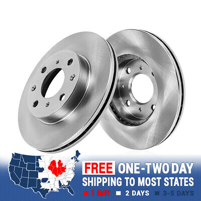 Front Brake Rotors And Ceramic Pads For 2011 2012 2013 2014 2015 Ford Fiesta