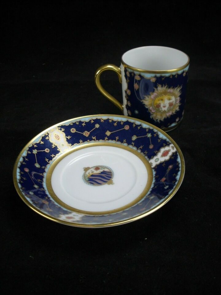Porcelæn, Ole Winther Mokka Kop Med Stjernetegn,