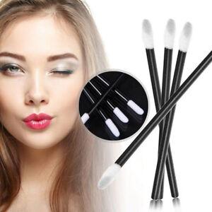 100Pcs-Disposable-Lip-Brush-Gloss-Lipstick-Wands-Applicator-Brush-Makeup-Tool