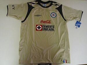 5fec9b944 Authentic Umbro Maquina Cruz Azul Mexico Liga MX Soccer Jersey Shirt ...